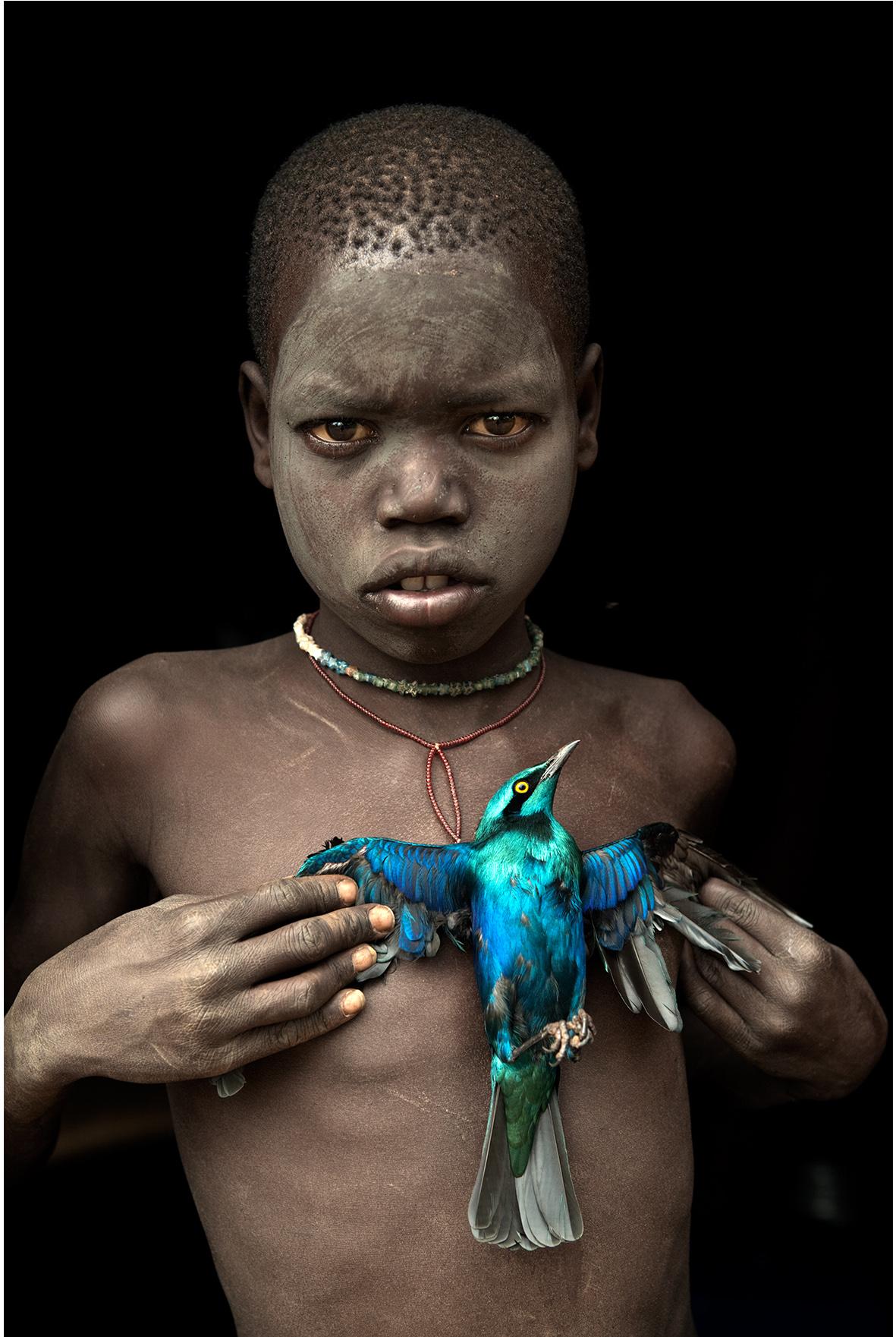 Enfants d'Ethiopie de Hans Silvester, galerie d'art lyon, art contemporain lyon, galerie Lyon