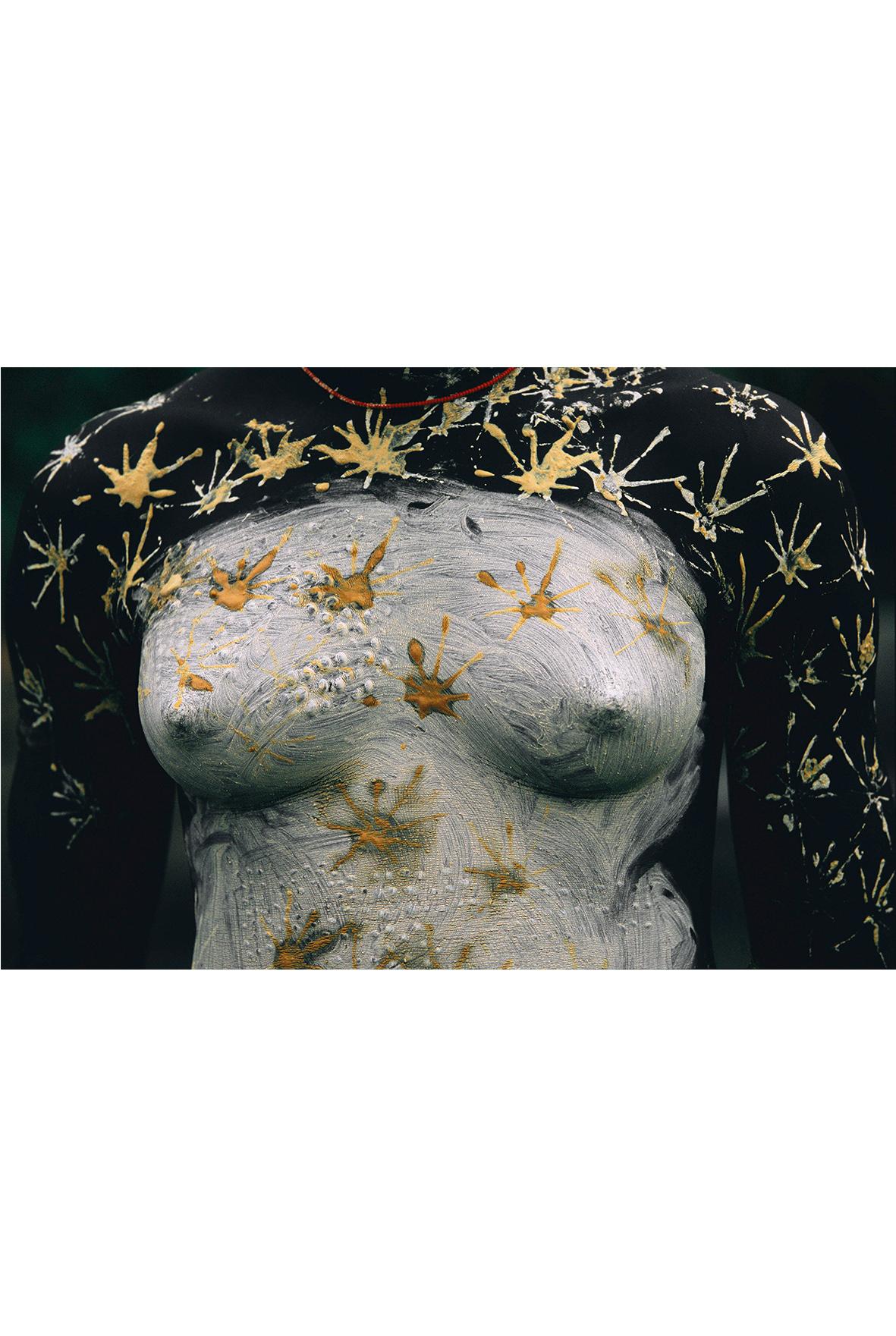Corps peints de la vallée de l'Omo, galerie d'art lyon, art contemporain lyon, galerie Lyon