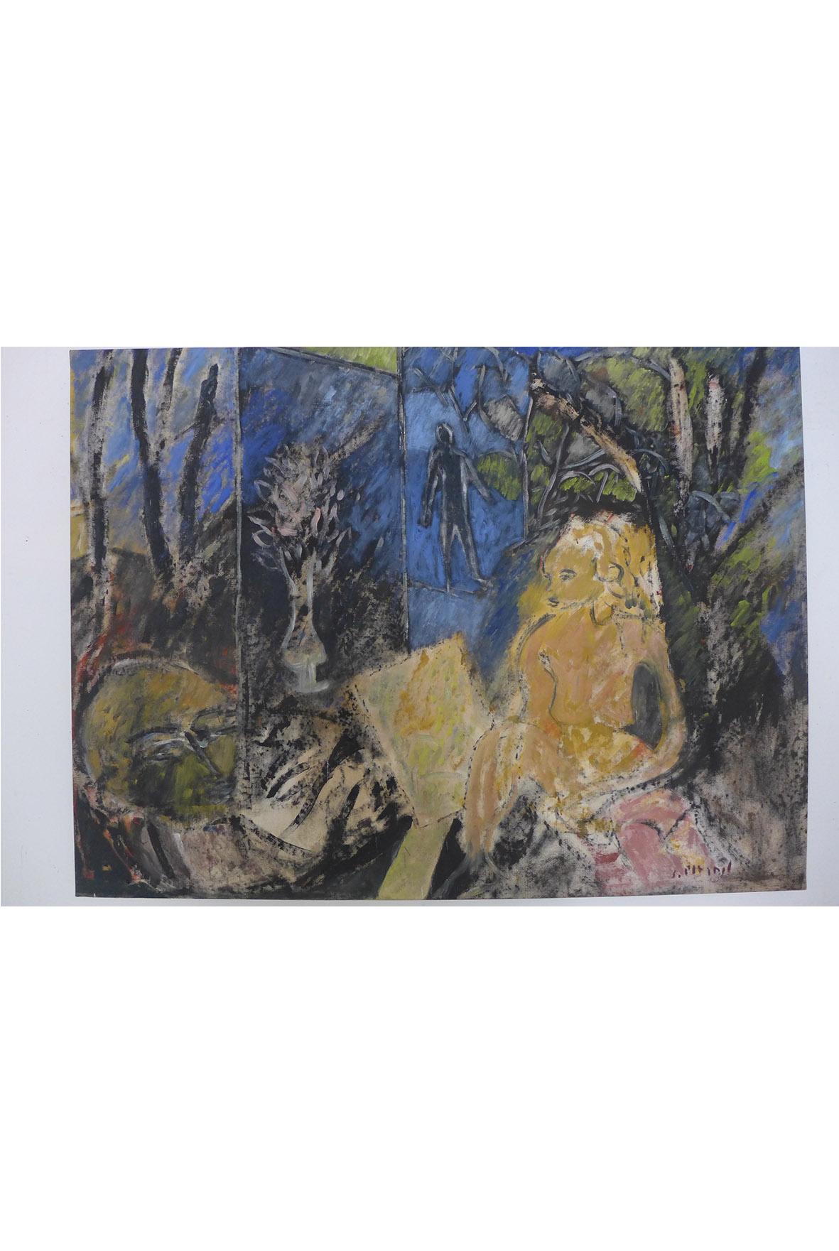 Plagnol - Suzanne et les vieillards, d'après Tintoret